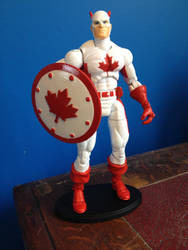 Custom Action Figure - Fighting Canadian by WemblyFraggle