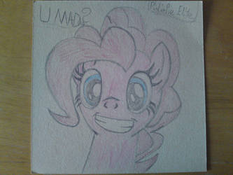 Hand drawn Pinkie Pie Colored by RegnbogsRus