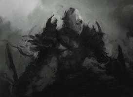 dark warrior by fossmno