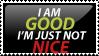 The Good Stamp by PsychoMonkeyShogun