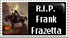 Frank Frazetta Stamp by PsychoMonkeyShogun