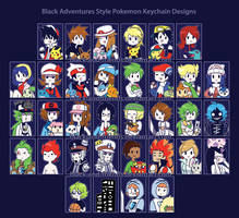 BASTYLEPOKEMONKEYCHAINDESIGNS by artist-black