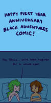 Happy First Anniversary by artist-black