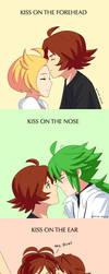 kissing meme by artist-black