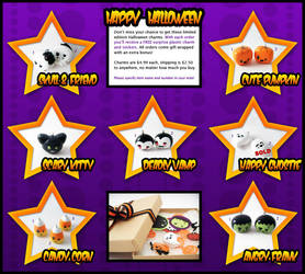 Starprints Halloween Charms by starprints