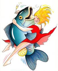 Dancin' The Fish by renerl