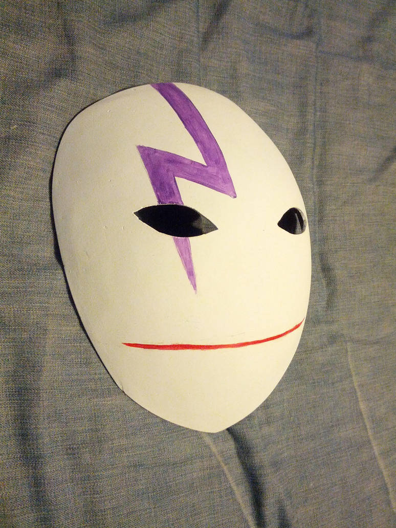 Resin 'Darker Than Black' Mask Build Blog by volko-dav