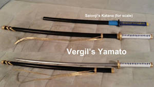 The Yamato, Vergil's Katana from Devil May Cry 3 by volko-dav
