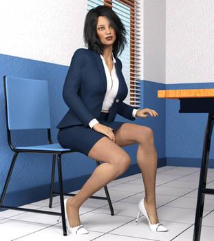 Jordina Office Break by ILikeUniforms