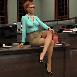 Alexandra Sexy Librarian by ILikeUniforms