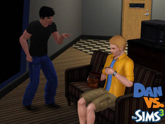 Dan vs. Sims 3 by DJ7493