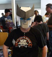 Ratchet Hat at Cybfest 2014 by Merewyn1066