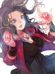Scarlet Witch by zigemu