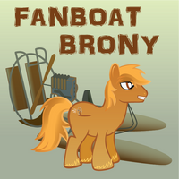 Fanboat Brony by GWBinvincible