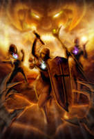 Diablo III - Reaper of Souls entry: Face of Hell by jonah-onix
