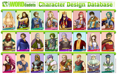 Character Database 2017 by jonah-onix