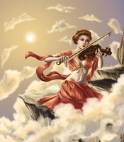 Triumphant Euterpe by MissAisling
