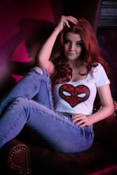 Spider Man - Mary Jane Watson cosplay by Disharmonica