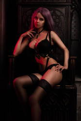 Dark boudoir by Disharmonica