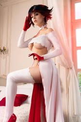 Kill la Kill - Bride Ryuko cosplay by Disharmonica