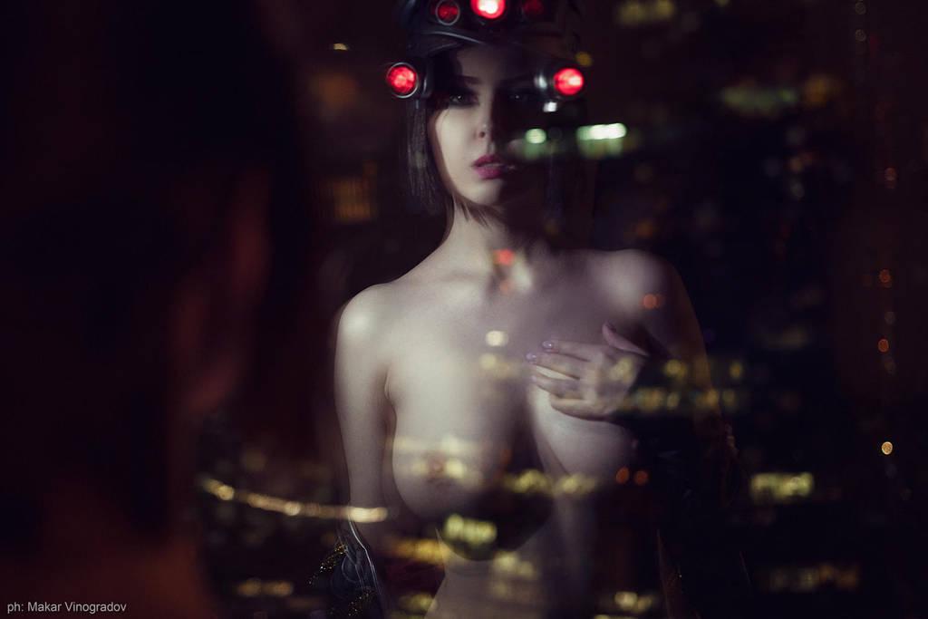 Erocosplay Widowmaker Huntress by Disharmonica