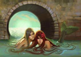 mermaid hair by oneKATIE