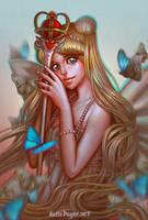 Silver Millennium by oneKATIE