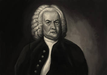 Bach by CroWarior