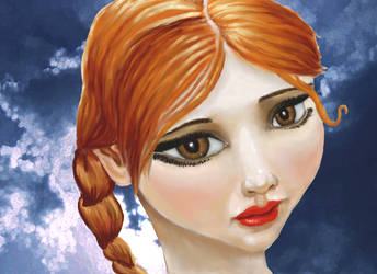 Ravishing Redhead by SteevDragon