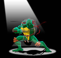 T.M.N.T. 2003 - Raphael by The-Bundycoot