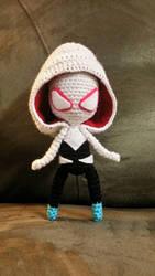 Spider Gwen Amigurumi Doll by sammie5o5o