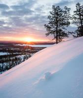 Sunrise at Konttainen by Laazeri