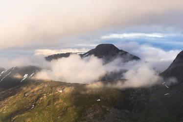 Misty Mountains II by Laazeri