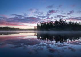 Mirror Lake by Laazeri