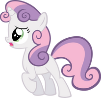 Vector Sweetie Belle by Kyss.S by KyssS90
