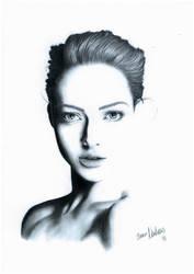 Portrait I (Amanda Seyfried) by BiancaNeinhaus