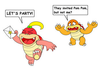 Boom Boom is not invited by DarkDiddyKong