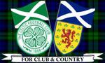 Glasgow Celtic FC and Scotland by RozyFly10