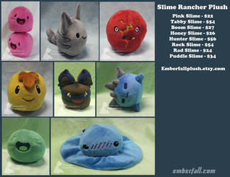 Slime Rancher Plush! by EmberfallPlush