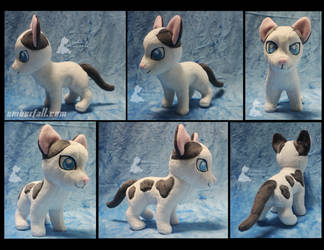8in Riley the Kitten by EmberfallPlush