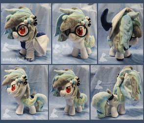 10in Snowdrift Tundra OC with Absol Hoodie by EmberfallPlush
