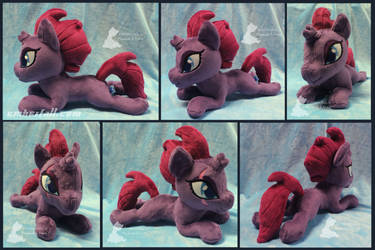 13in Tempest Beanie collage by EmberfallPlush