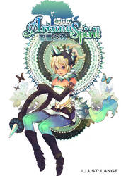 Arcana Spirit illustration by vegame