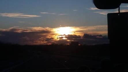 Welsh Sunset by ProfessorBagel