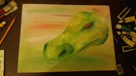 Green legend by ProfessorBagel
