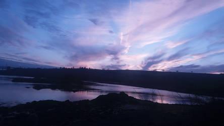 Sky at Church Island by ProfessorBagel