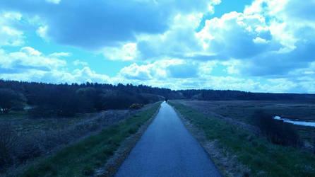 Sky at Newborough by ProfessorBagel