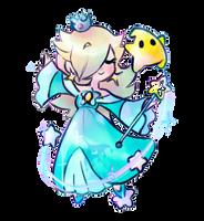 Rosalina sticker by wishkoi