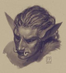 Troll sketch by FaPlastilinka