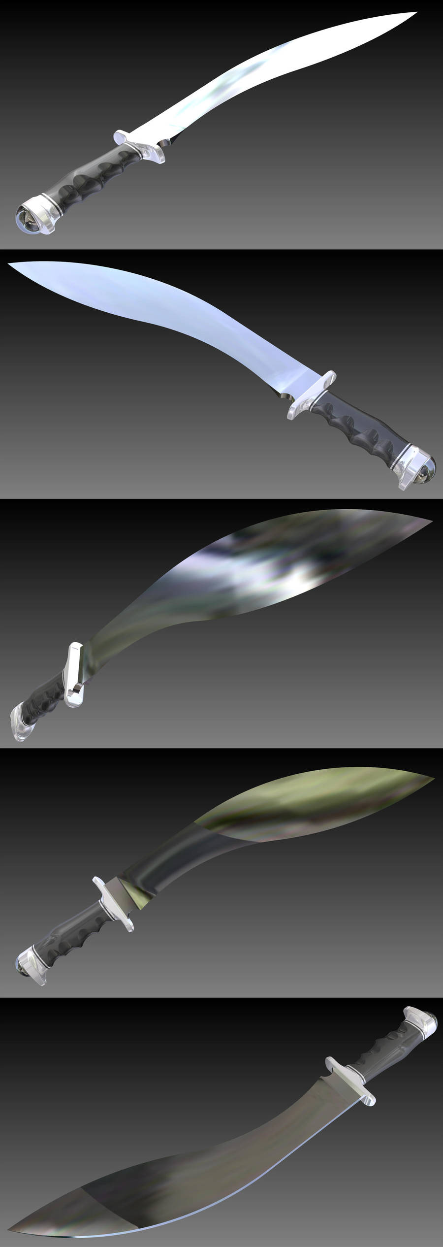 'The Talon' Giant Khukri by DaveLuck